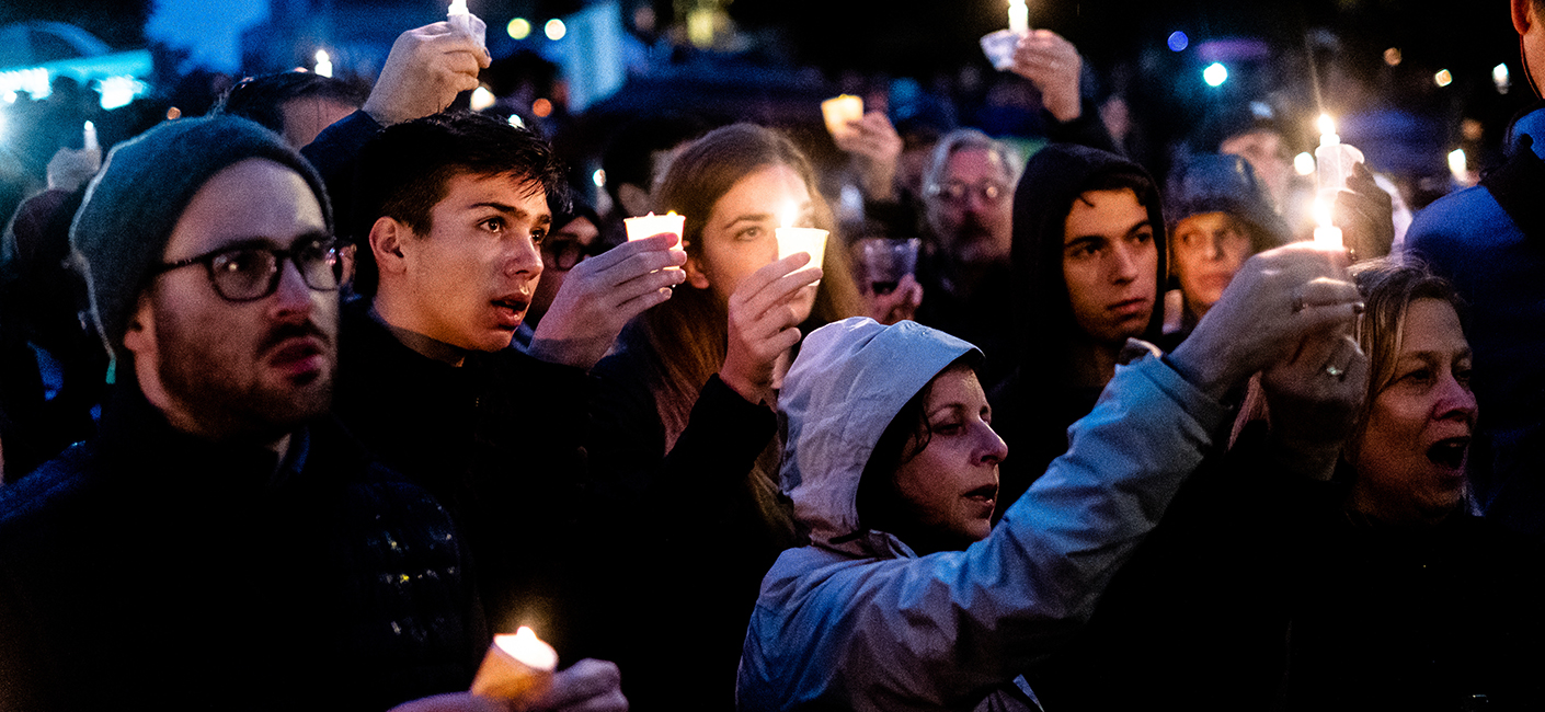 candlelight vigil (photo by Getty Images)