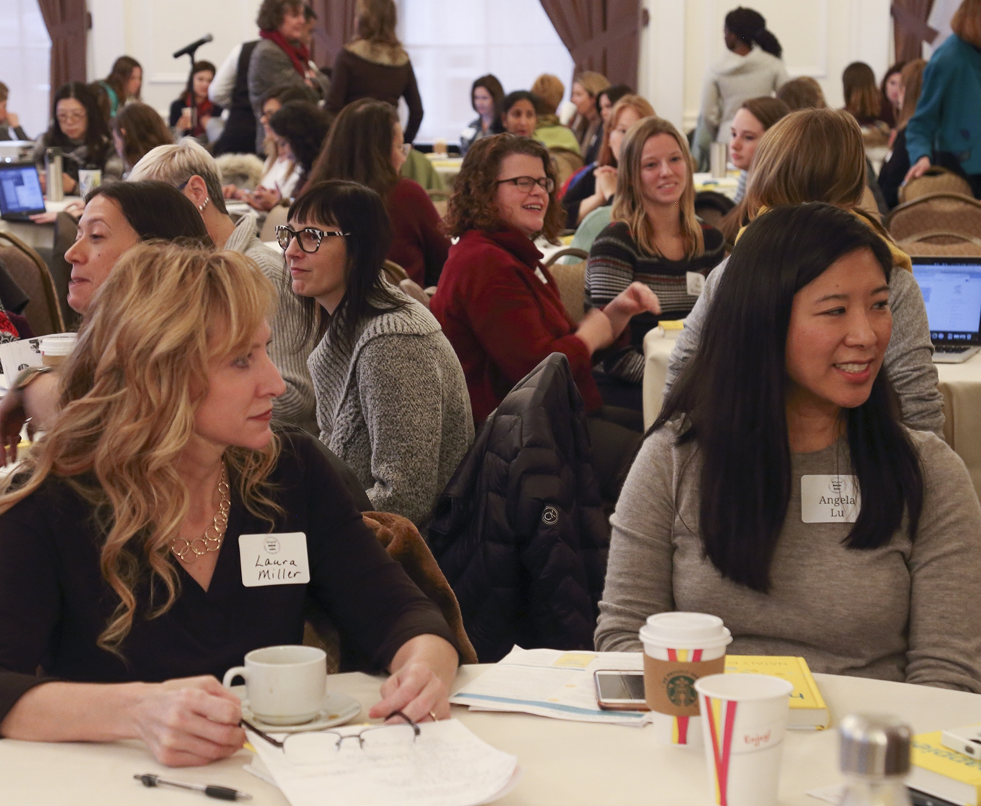 participants at Women in Medicine and Science Forum