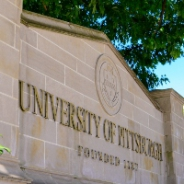 A University of Pittsburgh sign