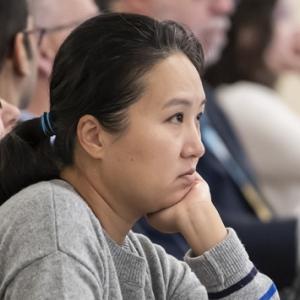 Charlotte Wang, an Advanced Analytics Summit attendee.