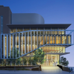Rendering of Scaife Hall expansion